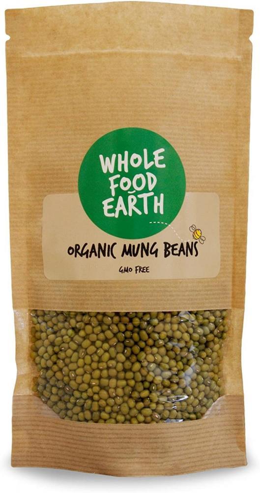 Wholefood Earth Organic Mung Beans 500g