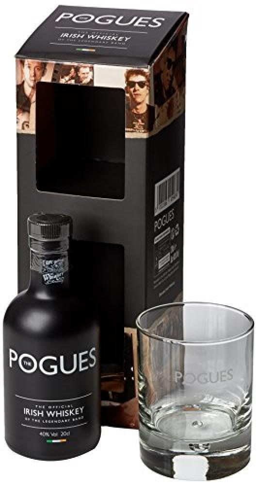 Pogues Irish Whiskey Bottle Gift Pack 20cl