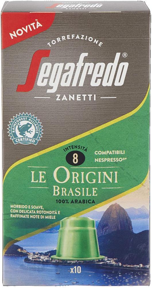 Segafredo Zanetti Nespresso Compatible Capsules 10 capsules