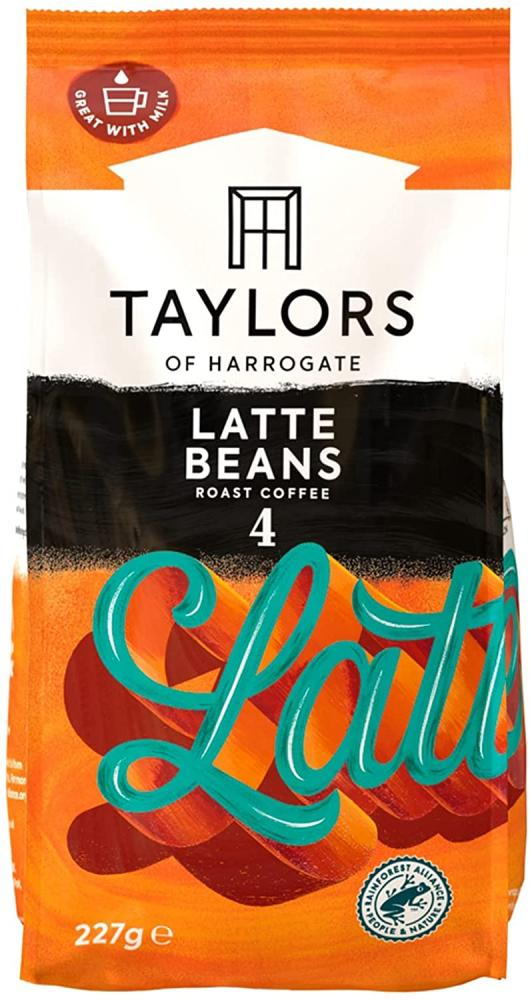 Taylors Of Harrogate Especially for Latte Coffee Beans 227g