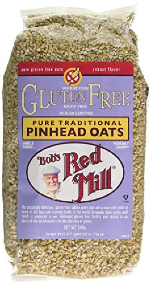 Bobs Red Mill Pure Traditional Pinhead Oats 640g