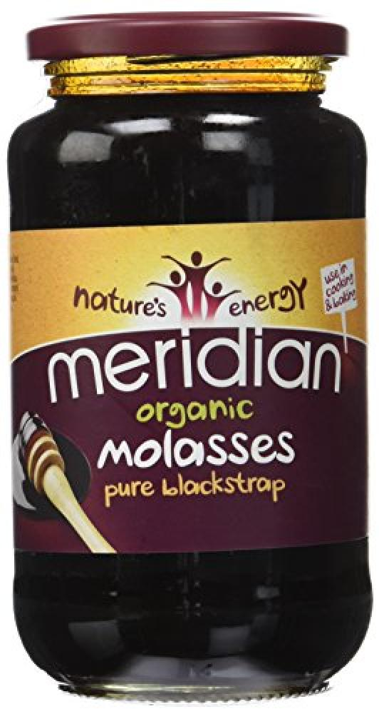 Natures Energy Meridian Organic Molasses Pure Blackstrap 740g