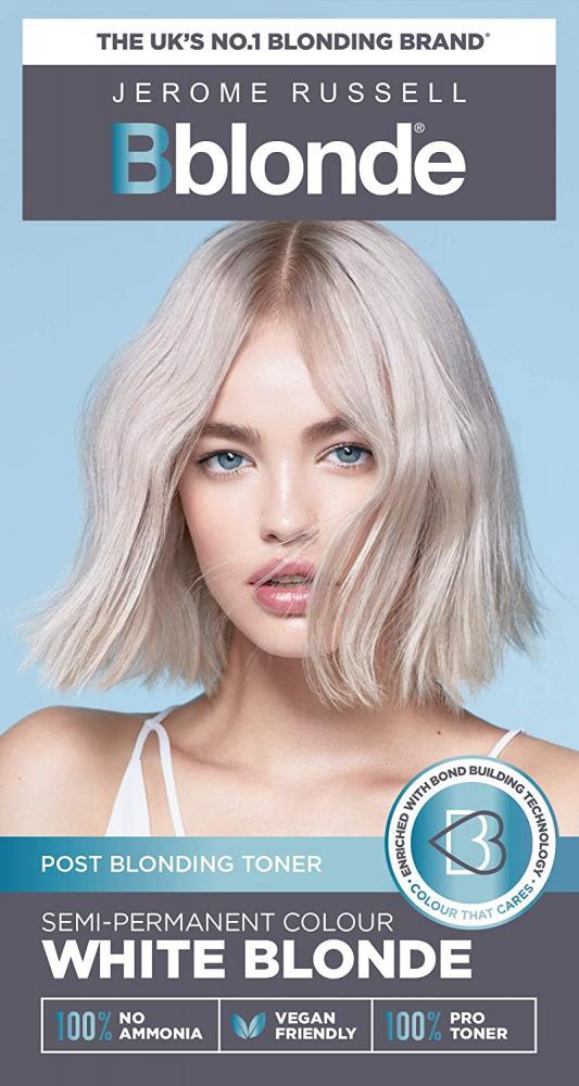 Jerome Russell Bblonde Semi-Permanent Toner White Blonde