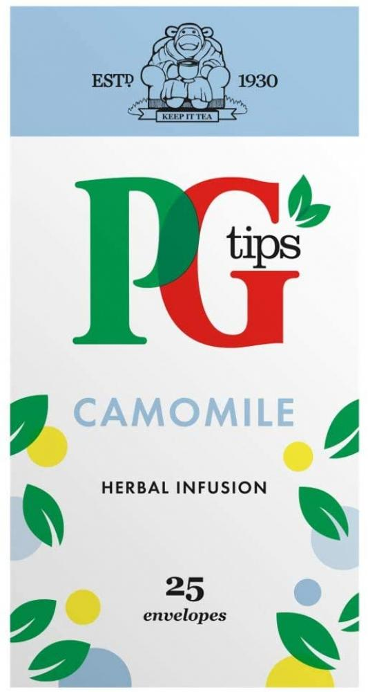 PG Tips Camomile Infusion Tea 25 Enveloped Bags