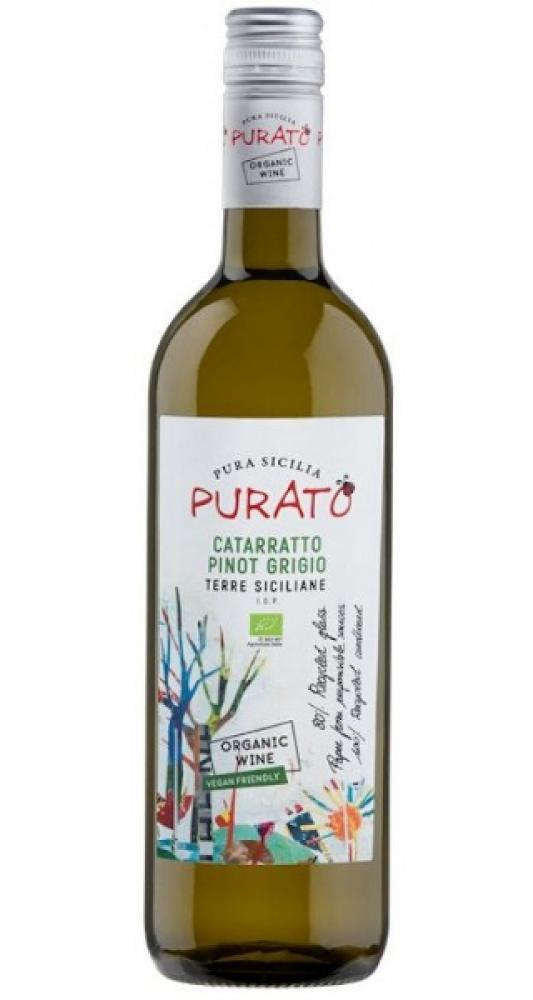 Purato Catarratto Pinot Grigio Organic Wine 750ml