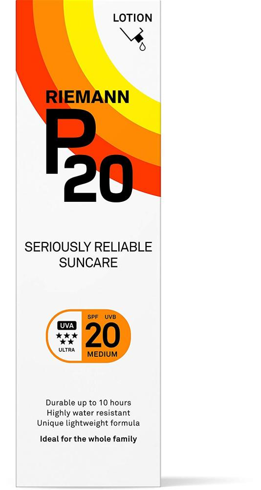 Riemann P20 Seriously Reliable Suncare SPF20 100ml