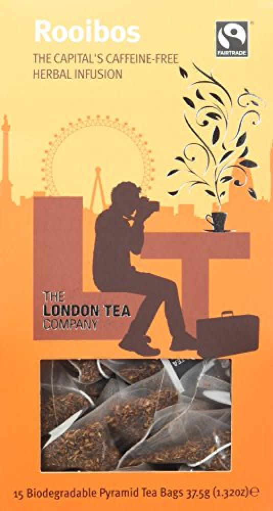 The London Tea Company Rooibos 15 Pyramid Teabags 375g
