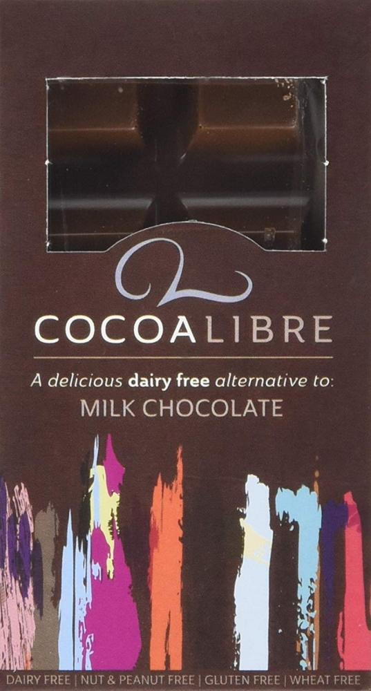 Cocoa Libre Milk Chocolate Bar 50g