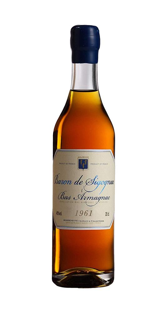 Baron de Sigognac 1961 Armagnac 70cl