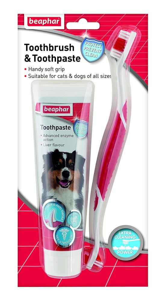 Beaphar Toothbrush and Toothpaste Kit 100 g