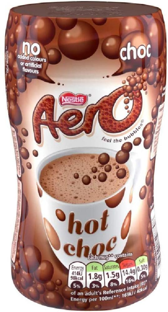 Aero Instant Bubbly Hot Chocolate Drink 288 g
