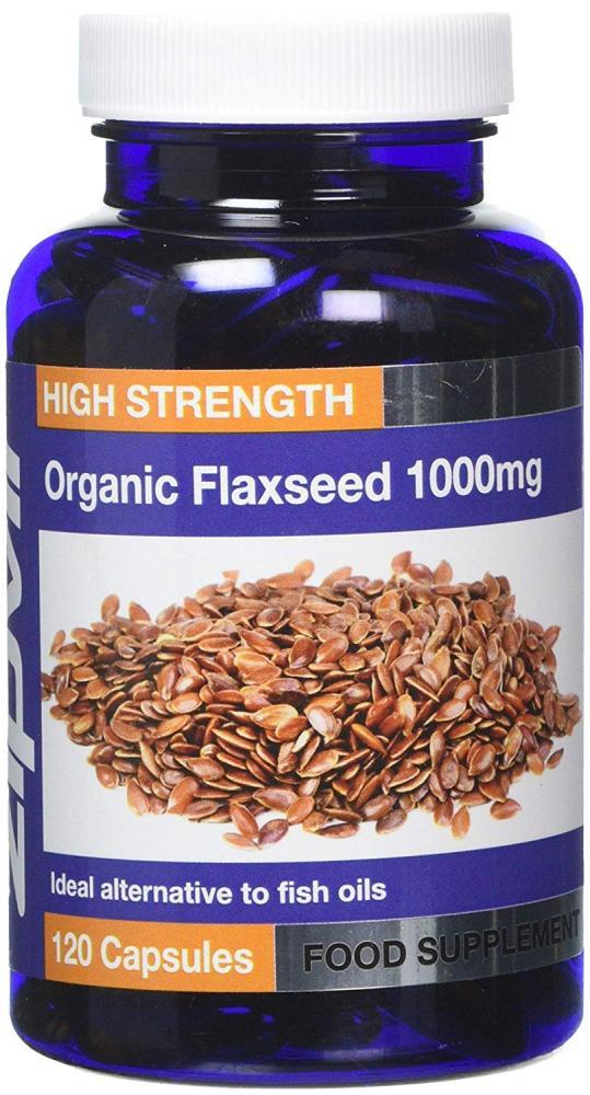 Zipvit Organic Flaxseed 1000mg 120 Capsules
