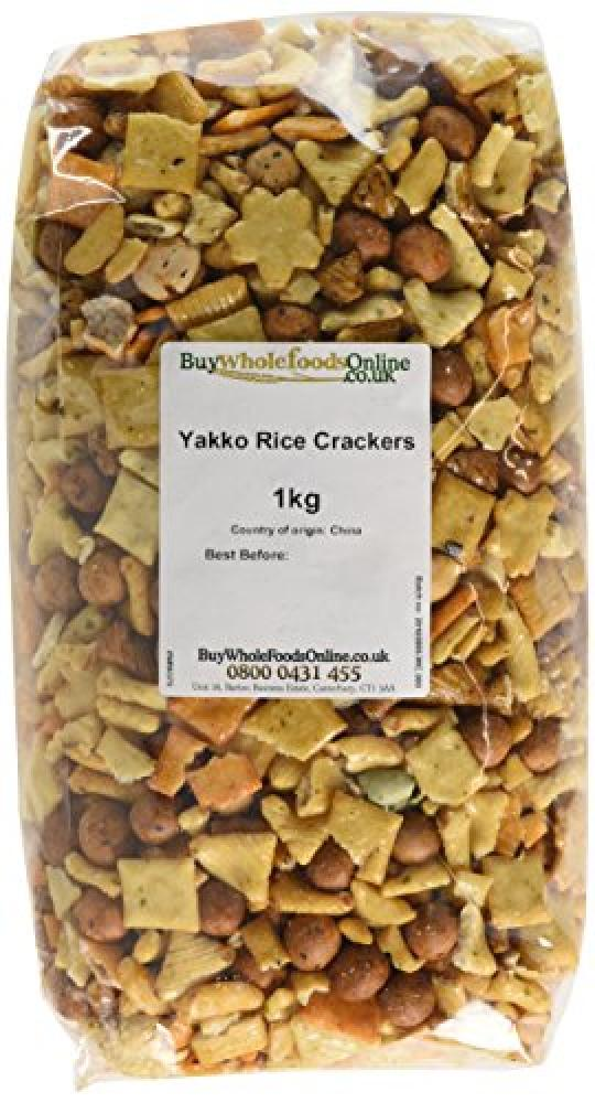 Buy Whole Foods Yakko Rice Crackers 1 kg