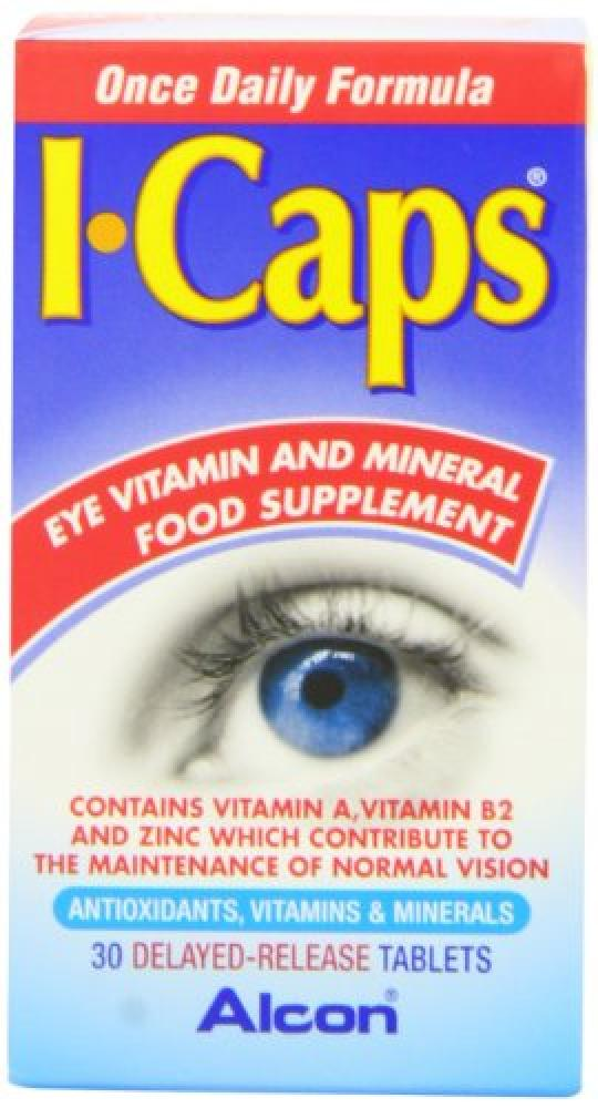 I Caps Lutein and Zeaxanthin Formula 30 tablets