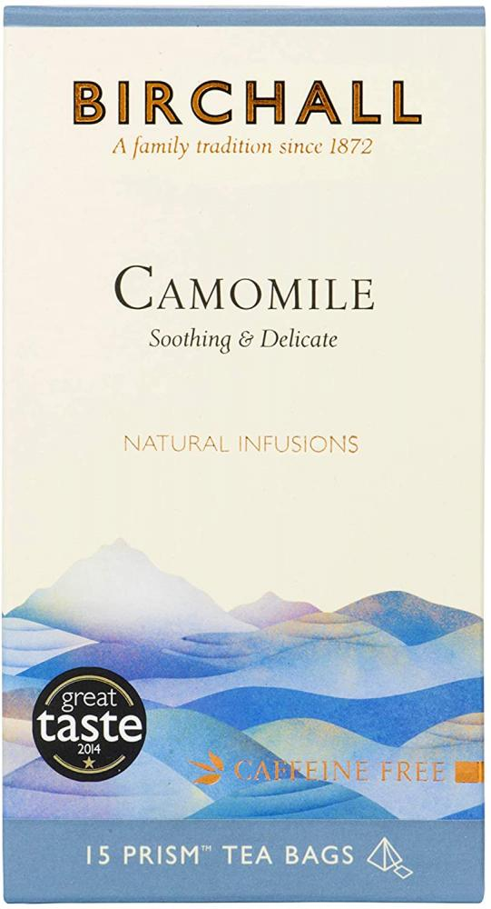Birchall Camomile Prism Tea Bags 15 teabags