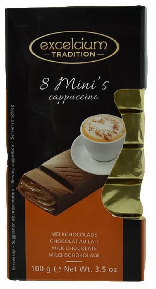 Excelcium Cappuccino Milk Bars 100g