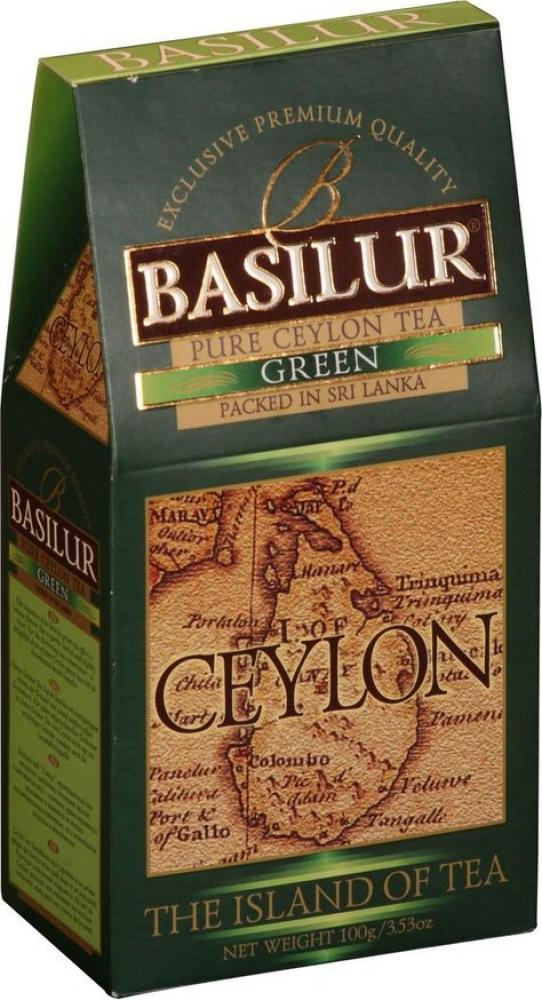 Basilur Tea Island Of Tea Green Loose Tea 100g