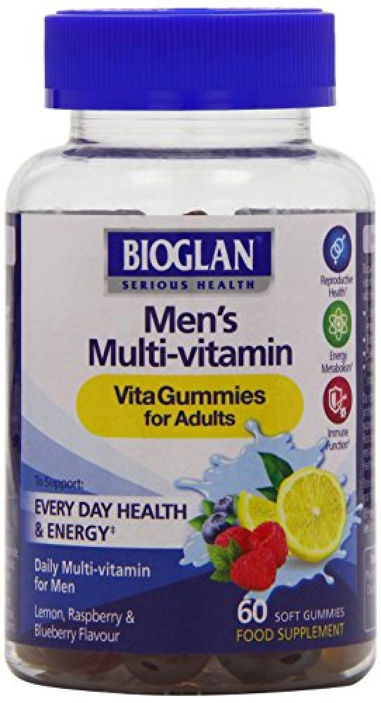 Bioglan Adult Vitagummies Mens Multivitamin 60 Soft Gummies