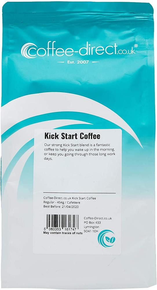 Coffee Direct Cafetiere Grind Kick Start Coffee 454 g