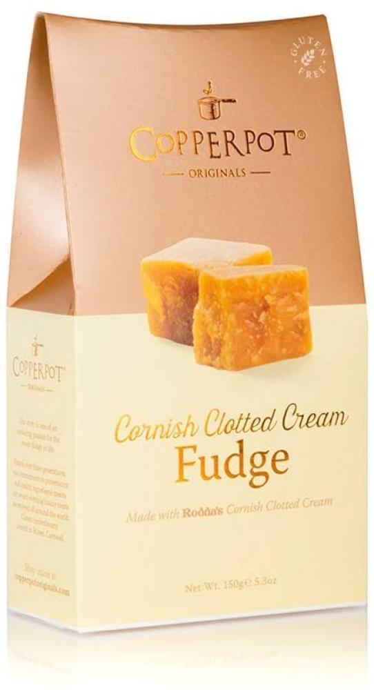Copperpot Clotted Cream Butter Fudge 150g