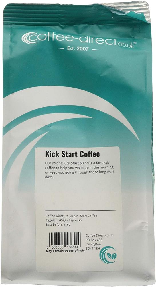 Coffee Direct Kick Start Coffee Espresso Grind 454 g