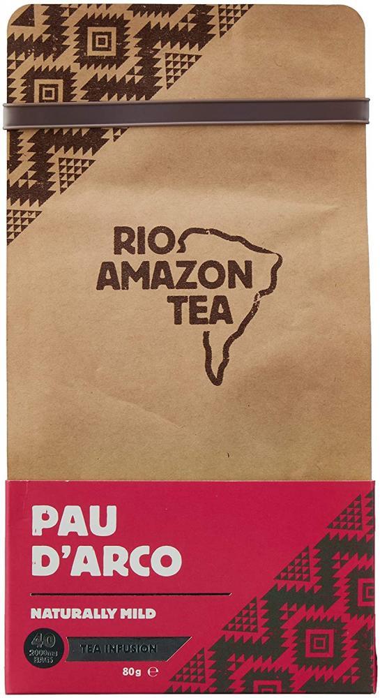 Rio Amazon Tea Pau Darco 40 Teabags