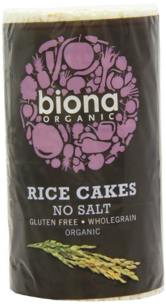 Biona Organic Unsalted Rice Cakes 100 g