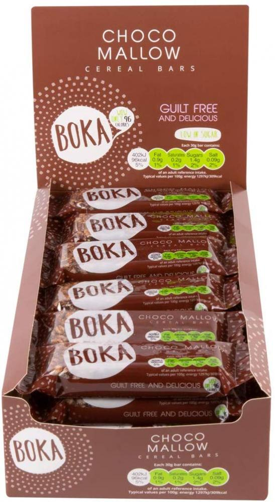 Boka Choco Mallow Cereal Bar 30g