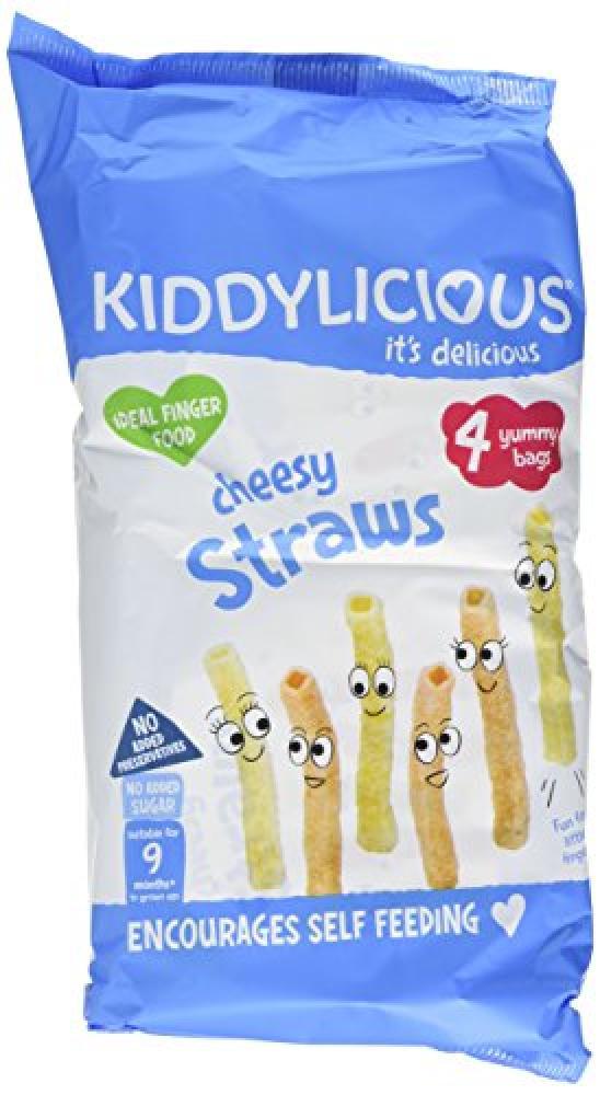 Kiddylicious Multipack Cheesy Straws 4 Packs 48 g