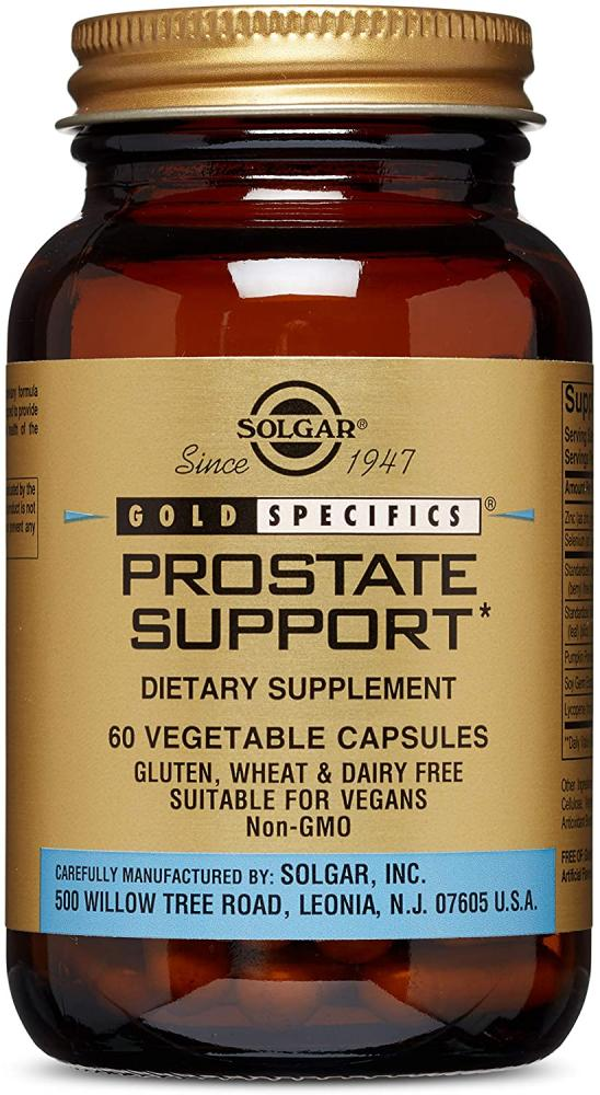 Solgar Gold Specifics Prostate Support Vegetable Capsules Pack of 60