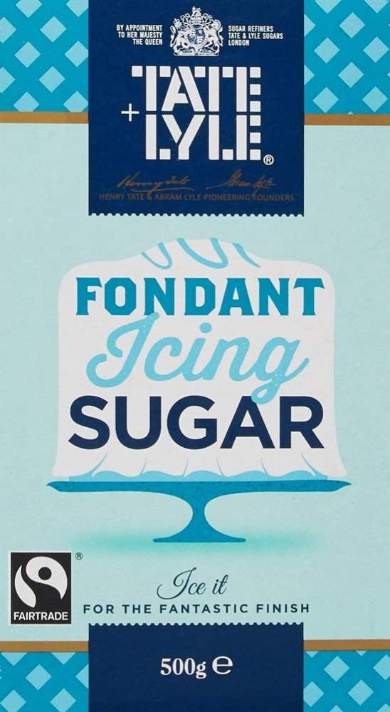 Tate and Lyle Fondant Icing Sugar 500g Damaged Box