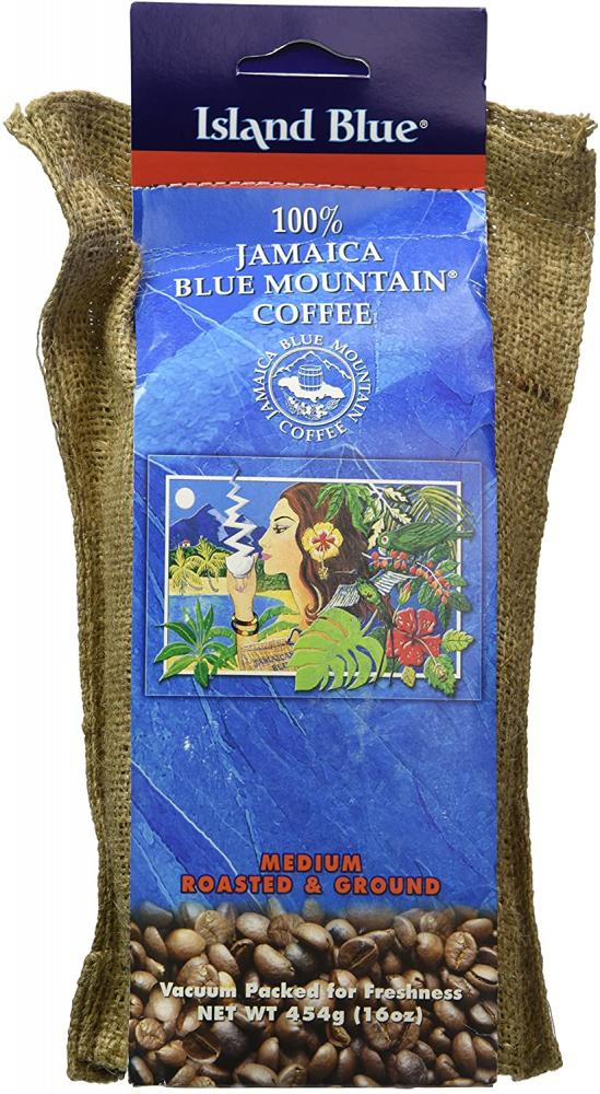 Island Blue Jamaica Blue Mountain Ground Coffee 454g