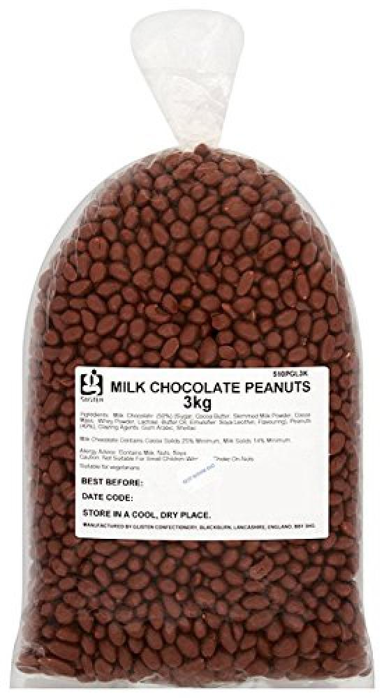 Big Bear Milk Chocolate Peanuts 3kg