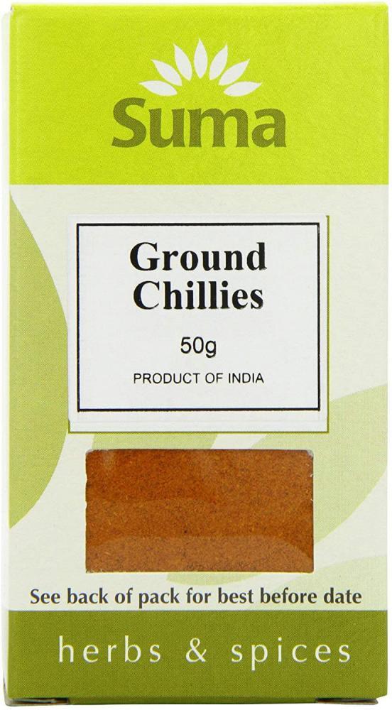 Suma Ground Chillies 50g