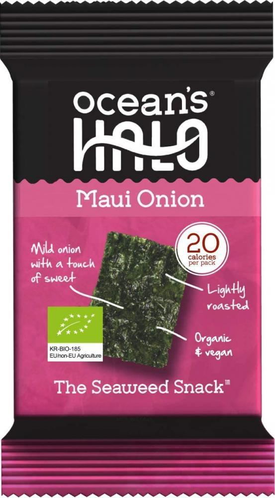 Oceans Halo Organic Maui Onion Seaweed Snack 48 g