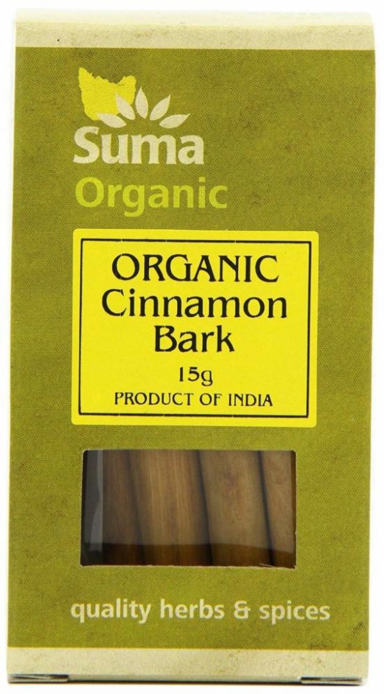 Suma Organic Cinnamon Bark 15g