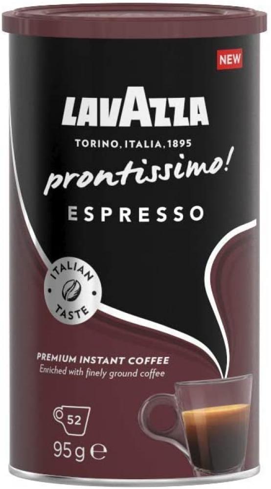 Lavazza Prontissimo Espresso Arabica and Robusta Dark Roast Instant Coffee 95 g
