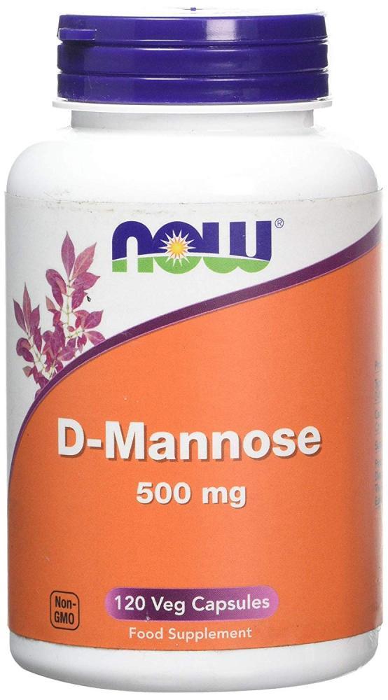 SALE  Now foods D-Mannose Supplement Veg Capsules 120