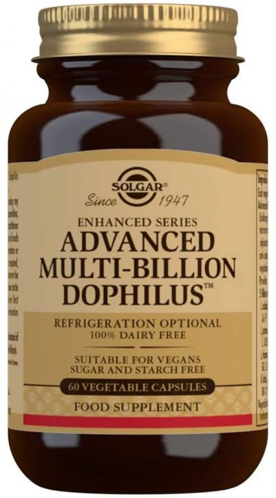 Solgar Advanced Multi-Billion Dophilus Vegetable Capsules 60 Capsules
