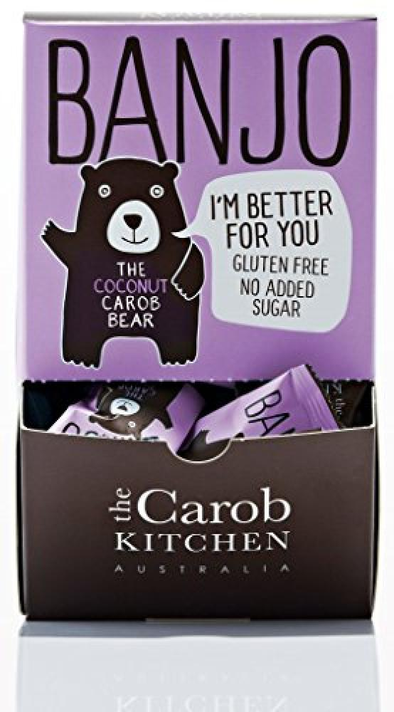 The Carob Kitchen Banjo Bear Coconut 15g