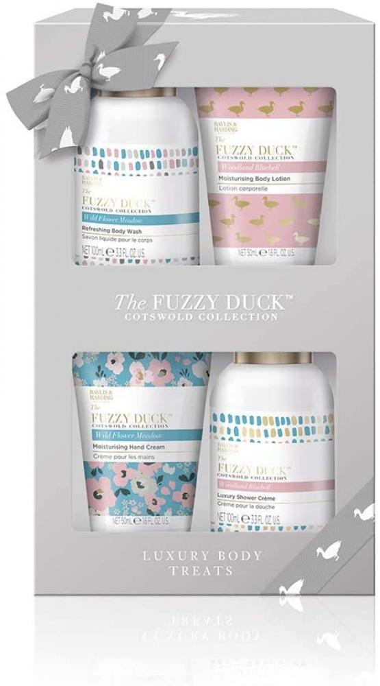 Baylis and Harding The Fuzzy Duck Cotswold Floral Bath Treats Giftset