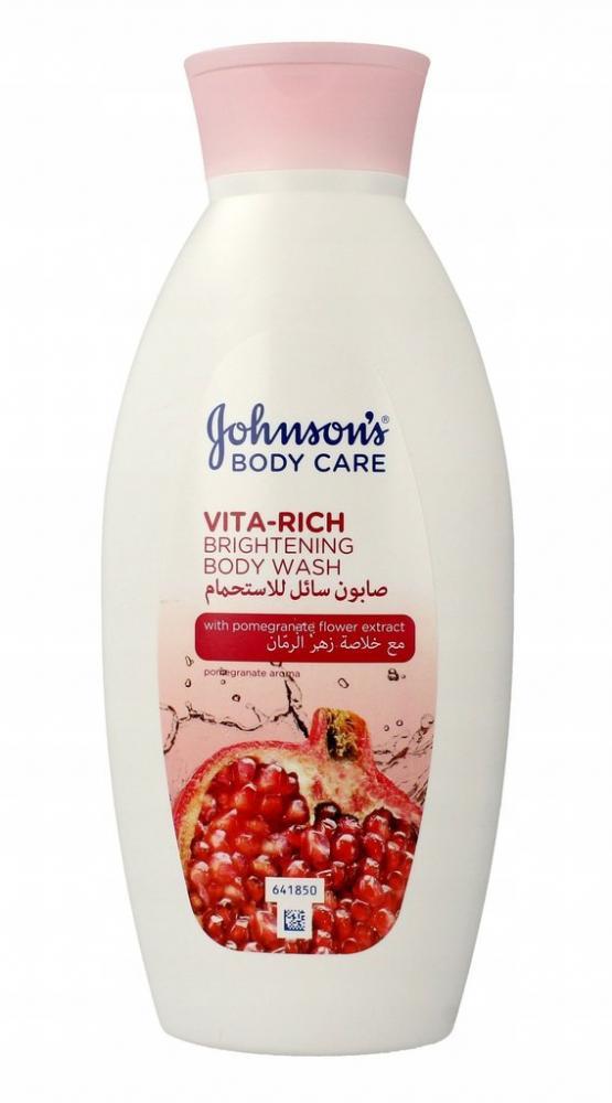Johnsons Vita Rich Body Wash Pomegranate Flower Extract 400ml