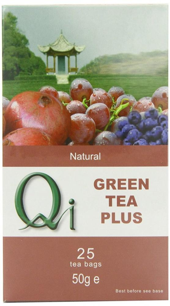 Qi Green Tea Plus 25 Teabags