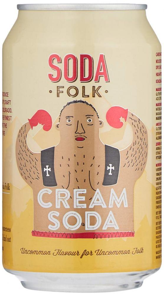 Soda Folk Cream Soda 330 ml