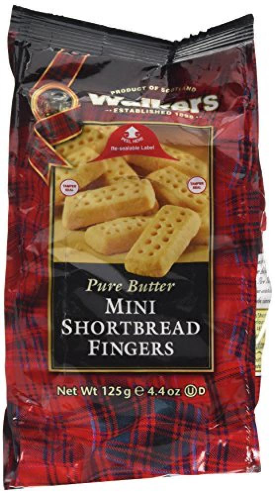 Walkers Shortbread Mini Fingers 125 g