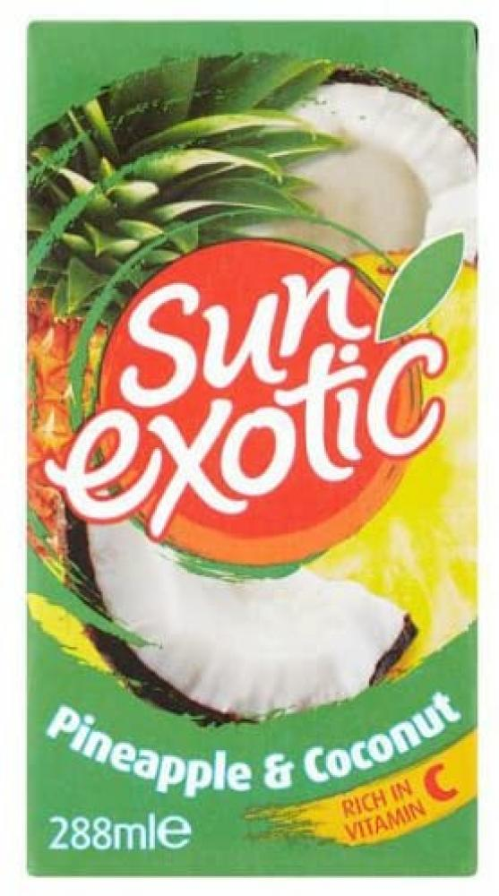 20 UNDER 20  Sun Exotic Pineapple And Coconut 288ml