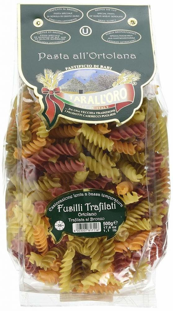 Taralloro Drawn Ortolano Fusilli Pasta in Bag 500g