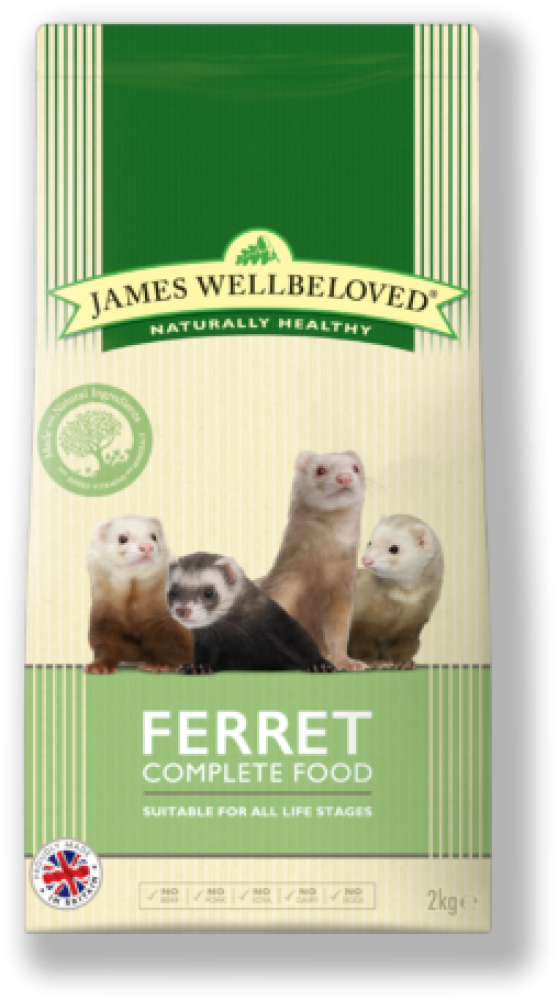 James Wellbeloved Ferret Food Dry Mix 2kg