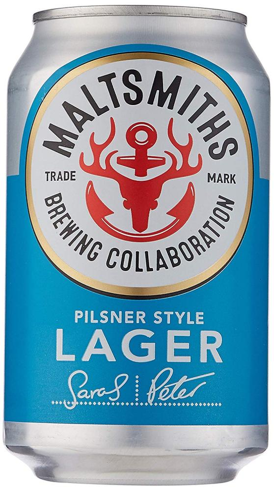 WEEKLY DEAL  Maltsmiths Pilsner Style Lager 330ml