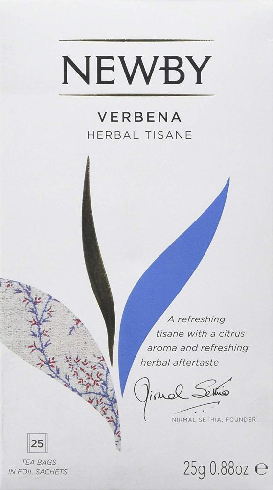 Newby Classic Verbena Teabags 25-Count